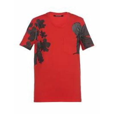 Neil Barrett レディースその他 Neil Barrett T Shirt With Print RED/BLACK