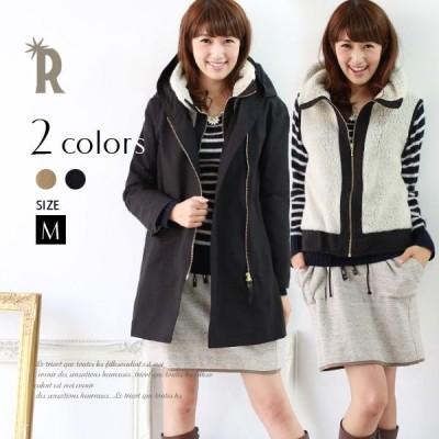 【再値下げ】Buyer's select MadeinJapan 3WAYコットンMIXモッズコート ZIPアップベスト付(424138)