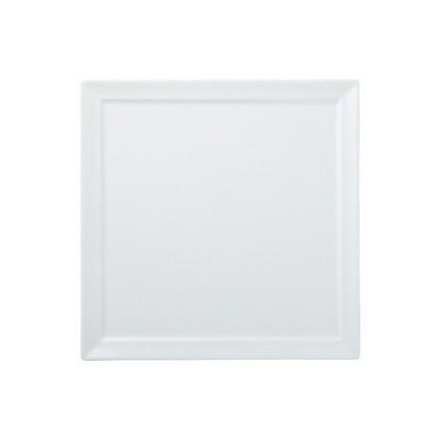 陶里 第30集 白磁 オードブル30cm四角皿 72901-080
