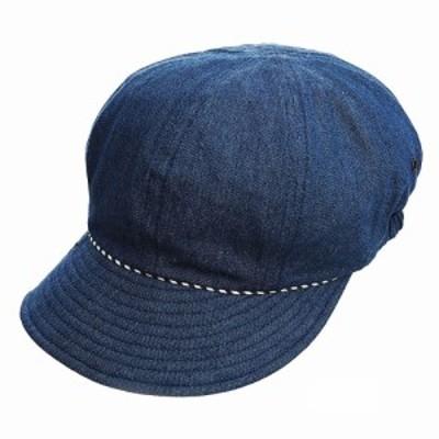 髪型ふんわりUVデニムキャスケット コジット ハット レディース UV帽子 帽子