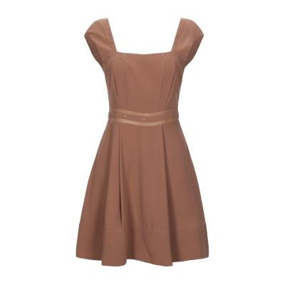 リュー ジョー LIU •JO ミニワンピース&ドレス キャメル 40 ポリエステル 100% / ポリウレタン樹脂 ミニワンピース&ドレス
