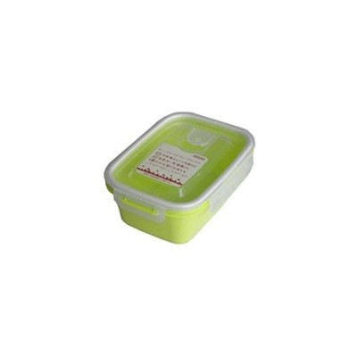岩崎工業 4901126316166 保存容器 スマートフラップ&ロックス 660ml(M) 1P グリーン【90個セット】