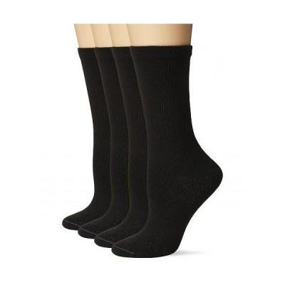 Dr. Scholl's ドクターショール メンズ 男性用 ファッション ソックス 靴下 スリッパ Dx-dsw22021c4-blk - Black
