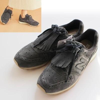 New Balance ニューバランス  WL996PRB OFF BLACK 上質 スゥエード タッセル付き ブラック