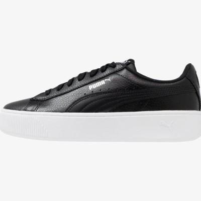 プーマ レディース 靴 シューズ VIKKY STACKED - Trainers - black
