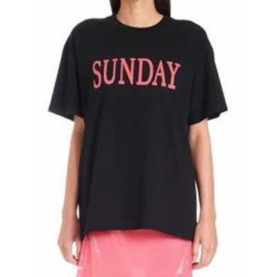 Alberta Ferretti レディースその他 Alberta Ferretti rainbow Week T-shirt Black