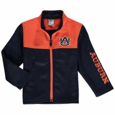 Colosseum コロセウム スポーツ用品  Colosseum Auburn Tigers Toddler Navy Clutch Full-Zip Jacket