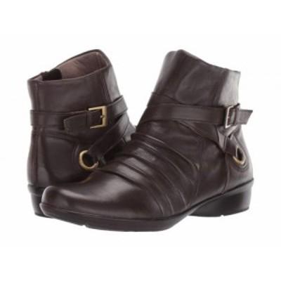 Naturalizer ナチュラライザー レディース 女性用 シューズ 靴 ブーツ アンクル ショートブーツ Canyon Oxford Brown【送料無料】