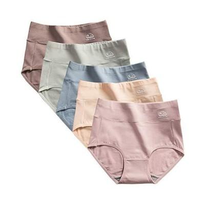 ショーツ レディース 深め 綿 オーガニックコットン 柔らか 締め付けない パンツ すっぽりショーツ 30代 40代 50代 女性 下着 美尻ショーツ