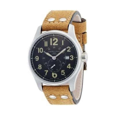 [ハミルトン] 腕時計 Khaki Officer Auto 44mm H70655733 正規輸入品 ブラウン
