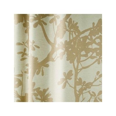 【ツリー】1枚入り。遮光1級、形状記憶加工付きのウォッシャブルカーテン  巾100x丈135    1枚