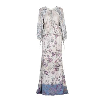 エトロ ETRO ロングワンピース&ドレス アイボリー 44 レーヨン 100% / コットン ロングワンピース&ドレス