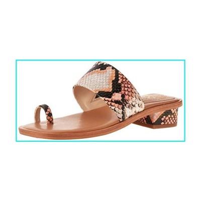 Vince Camuto Women's Yelinda Sandal, Creamsicle/Light Natural, 8.5 M【並行輸入品】