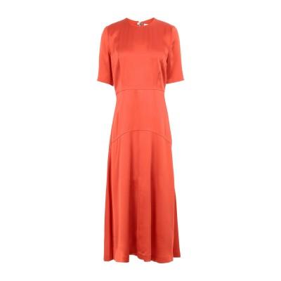 IVY & OAK 7分丈ワンピース・ドレス オレンジ 36 アセテート 64% / レーヨン 36% 7分丈ワンピース・ドレス