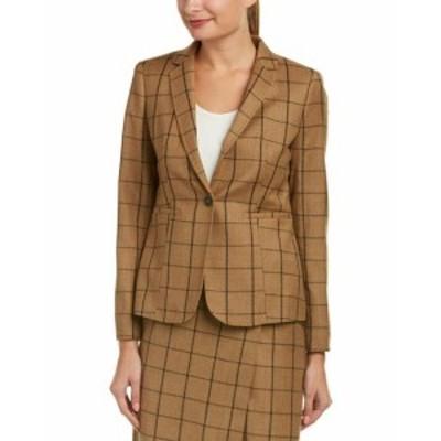 brooks ブルックス ファッション 衣類 Brooks Brothers Wool Jacket 4 Brown