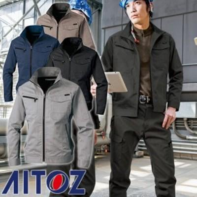 作業服 ブルゾン AITOZ アイトス 長袖ブルゾン AZ-60601 作業着 通年 秋冬