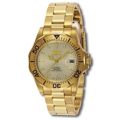 インビクタ Invicta インヴィクタ 男性用 腕時計 メンズ ウォッチ ゴールド INVICTA-9618