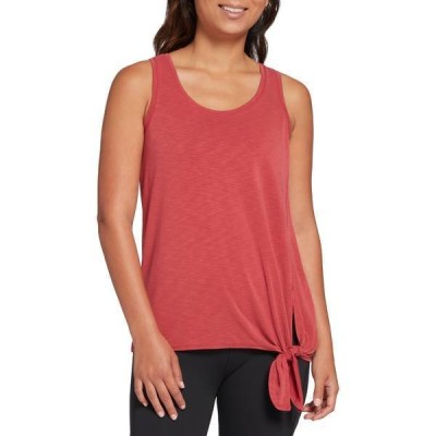 キャリー アンダーウッド レディース シャツ トップス CALIA by Carrie Underwood Women's Everyday Side Tie Tank Top (Regular and Plus)