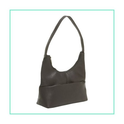 Le Donne Top Zip Hobo Handbag, Cafe並行輸入品