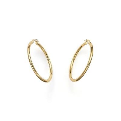ロバートコイン レディース ピアス・イヤリング アクセサリー 18K Yellow Gold Hoop Earrings