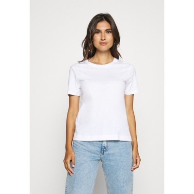 ガント Tシャツ レディース トップス THE ORIGINAL  - Basic T-shirt - white