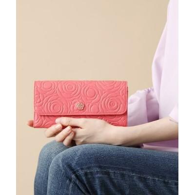CLATHAS/クレイサス カメル フラップ長財布 ピンク3 F