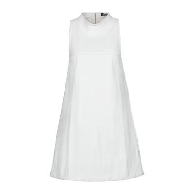 ツインセット シモーナ バルビエリ TWINSET ミニワンピース&ドレス ホワイト 48 ポリエステル 100% / ポリウレタン / ポリウレタ