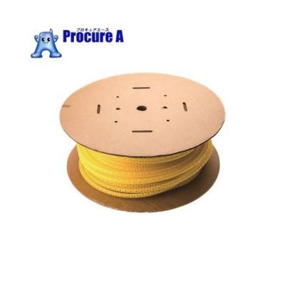 パンドウイット 電線保護チューブ スリット型スパイラル パンラップ 束線径18.3Φmm 30m巻き 黄 PW75F-C4▼731-5261パンドウイットコーポレーション