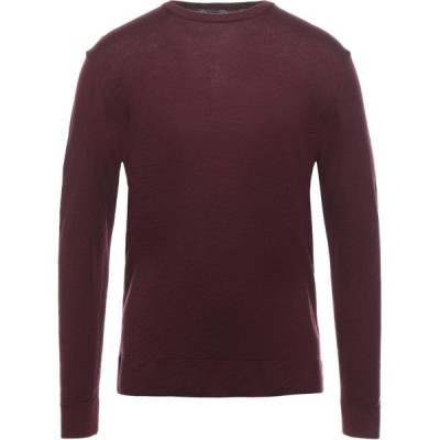 レトア RETOIS メンズ ニット・セーター トップス Sweater Maroon