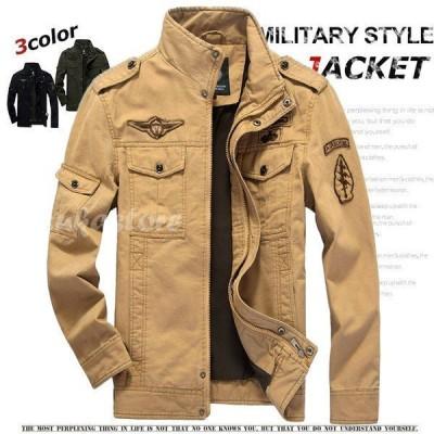 ジャケット メンズ ジャケット アウター 空軍 お兄系 刺繍 フライトジャケット欧米風 綿 アウトドア
