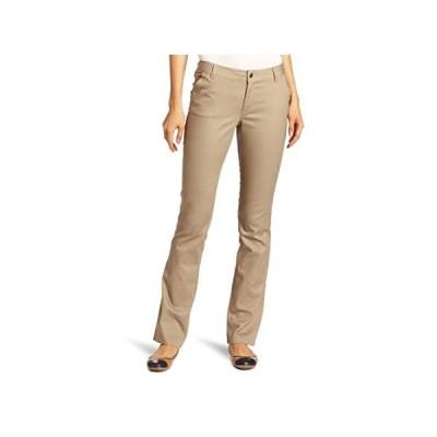 特別価格Lee Uniforms ジュニア カービー ストレートレッグパンツ US サイズ: 0 junior カラー: ベージュ好評販売中