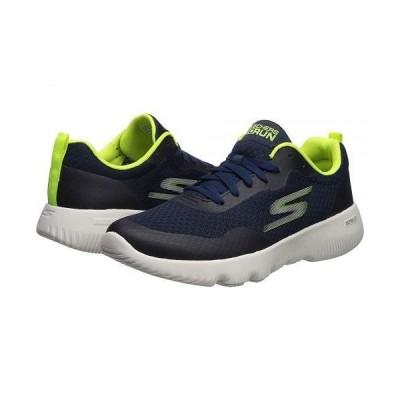 SKECHERS スケッチャーズ メンズ 男性用 シューズ 靴 スニーカー 運動靴 Go Run Focus - Navy/Lime