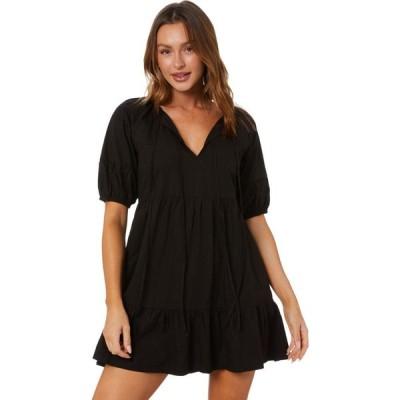 スウェル Swell レディース ワンピース ワンピース・ドレス Saint Tropez Smock Dress Midnight