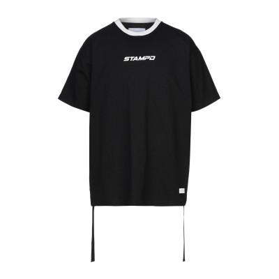 スタンプド STAMPD T シャツ ブラック S コットン 100% T シャツ
