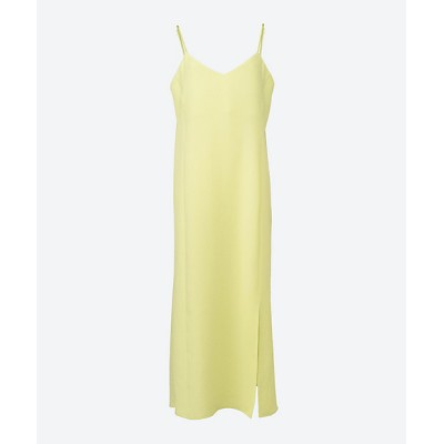 <PHEENY(Women)/フィーニー> Dobby camisole dress LIME【三越伊勢丹/公式】