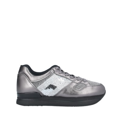 ホーガン HOGAN スニーカー&テニスシューズ(ローカット) 鉛色 37.5 紡績繊維 / 革 スニーカー&テニスシューズ(ローカット)