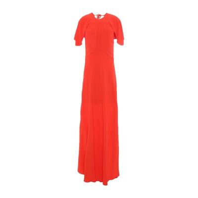 エリカ カヴァリーニ ERIKA CAVALLINI ロングワンピース&ドレス オレンジ 44 レーヨン 100% ロングワンピース&ドレス