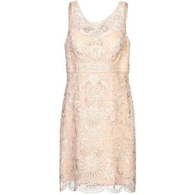 PAOLA BLŪ ミニワンピース&ドレス ローズピンク 46 ポリエステル 100% ミニワンピース&ドレス