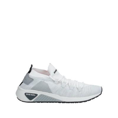 ディーゼル DIESEL スニーカー&テニスシューズ(ハイカット) ホワイト 38 ポリエステル 100% スニーカー&テニスシューズ(ハイカット)