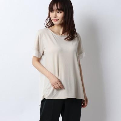 ティゴラ TIGORA レディース 半袖Tシャツ メッシュデザインTシャツ(半袖) TR-9P2230TS