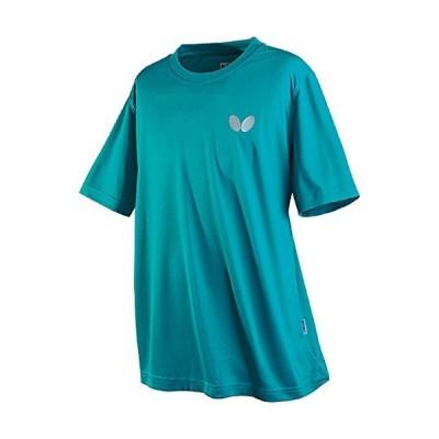 バタフライ(Butterfly) 卓球 男女兼用 Tシャツ ウィンロゴ・Tシャツ 45230 ターコイズブルー(123) S並行輸入