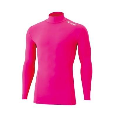YONEX ヨネックス フィットネス 全体着圧コンプレッション ハイネック長袖シャツ STBF1015 ユニ ブライトピンク