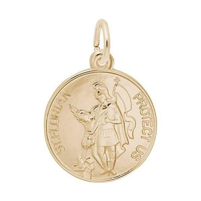 Rembrandt Charms St. Florian Charm, 10K Yellow Gold並行輸入品 送料無料