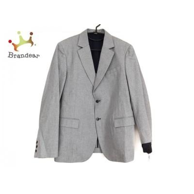 ミュウミュウ miumiu ジャケット サイズ52 L メンズ - 白×黒 長袖/春/秋 新着 20201027