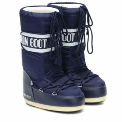 ムーンブーツ Moon Boot レディース ブーツ スノーブーツ シューズ・靴 nylon snow boots Blue