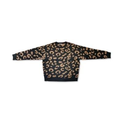 バースリー ニット&セーター アウター レディース Cheetah Print Sweater,  Tan Combo