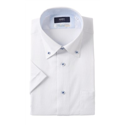 ボタンダウンスタイリッシュワイシャツ【COOLMAX】