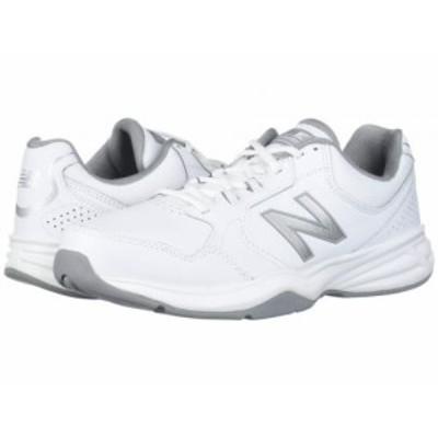 New Balance ニューバランス メンズ 男性用 シューズ 靴 スニーカー 運動靴 411 White/Silver Mink【送料無料】