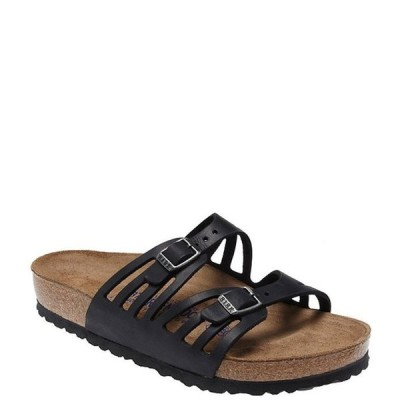 ビルケンシュトック レディース サンダル シューズ Granada Softbed Leather Sandals