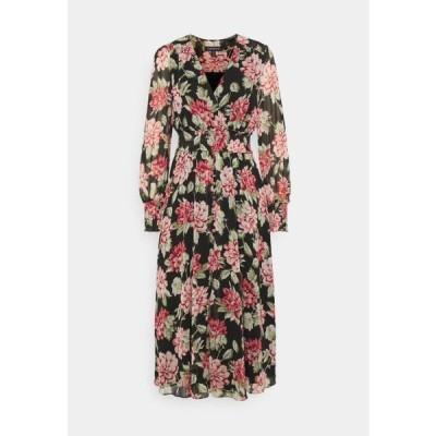 フォーエバーニュー レディース ファッション EVIE PRINT DRESS - Day dress - crimson